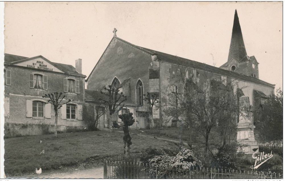 EGLISE ST-SULPICE APRES 1945