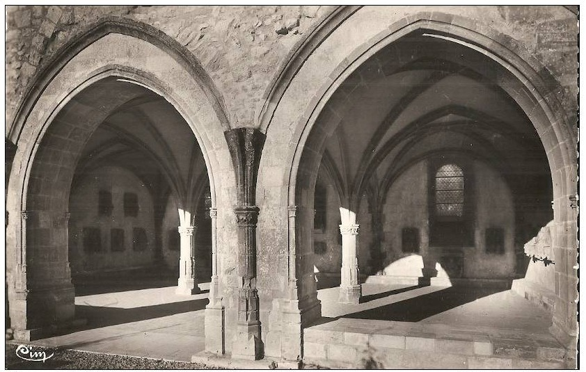 ABBAYE SALLE CAPITULAIRE 2 -  APRES 1949