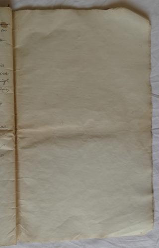 CHARROUX ABBAYE RECETTES 1770 - Coll ©KARROFUM all   058
