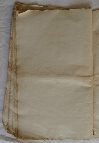 CHARROUX ABBAYE RECETTES 1770 - Coll ©KARROFUM all   059