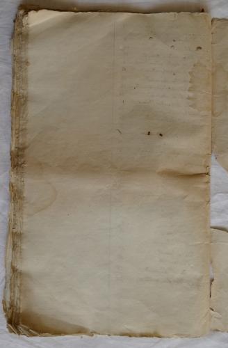 CHARROUX ABBAYE RECETTES 1770 - Coll ©KARROFUM all   073
